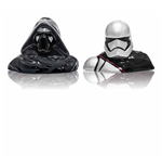 Star Wars - Set Spargi Sale E Pepe In Ceramica Kylo Ren + Captain Phasma