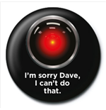 2001: A Space Odyssey - Hal (Badge Pack)