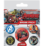 Avengers: Age Of Ultron (Badge Pack)