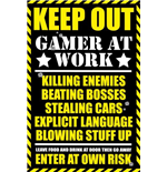 Gaming - Keep Out (Poster Maxi 61x91,5 Cm)
