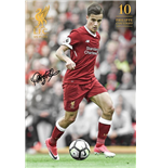 Liverpool - Coutinho 17/18 (Poster Maxi 61x91,5 Cm)