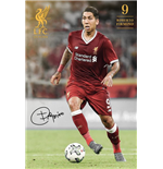 Liverpool - Firmino 17/18 (Poster Maxi 61x91,5 Cm)