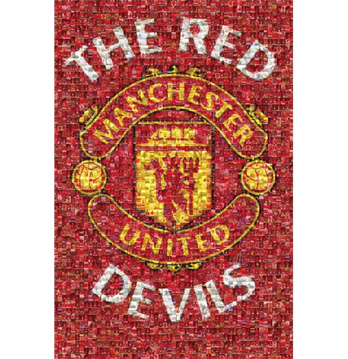 Manchester United - Mosaic (Poster Maxi 61x91,5 Cm)