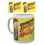 Rick And Morty - Better Call Morty (Tazza)