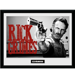 Walking Dead (The) - Rick Grimes (Stampa In Cornice 30x40cm)