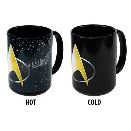 Tazza Termosensibile Star Trek