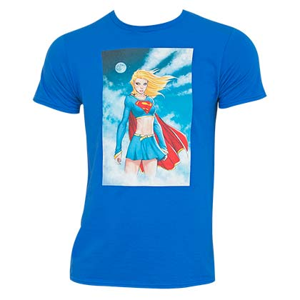 T-shirt Supergirl da uomo