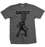 Guardians Of The Galaxy 2 - Groot Mono (T-SHIRT Unisex )