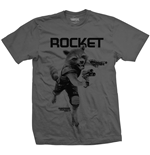 Guardians Of The Galaxy 2 - Rocket Mono (T-SHIRT Unisex )