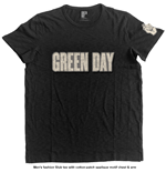 Green Day - Logo & Grenade (T-SHIRT Unisex )