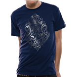 Harry Potter - Silver Foil Crest (T-SHIRT Unisex )