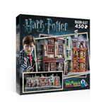 Wrebbit W3D-1010 - Harry Potter - Diagon Alley (Poster 3D 450 Pz)