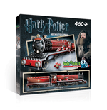 Wrebbit W3D-1009 - Harry Potter - Hogwarts Express (Poster 3D 460 Pz)