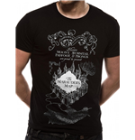 T-shirt Harry Potter - Design: Marauders Map