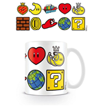 Tazza Super Mario Icons