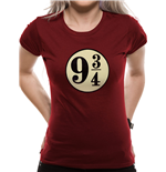 Harry Potter - Platform 9 3/4S (T-SHIRT Donna )