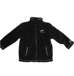 All Blacks Pile Bambino FULL-ZIP