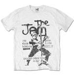 T-shirt The Jam 100 Club 77