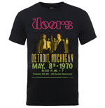 T-shirt The Doors da uomo - Design: Gradient Show Poster