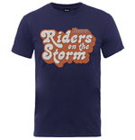 T-shirt The Doors da uomo - Design: Riders on the Storm Logo