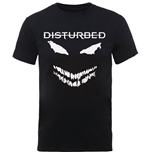 T-shirt Disturbed Scary Face Candle