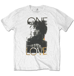 T-shirt Bob Marley da uomo - Design: One Love