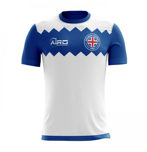 T-shirt Islanda calcio 2017-2018 Away