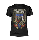 T-shirt Gas Monkey Garage - Go Big Or Go Home