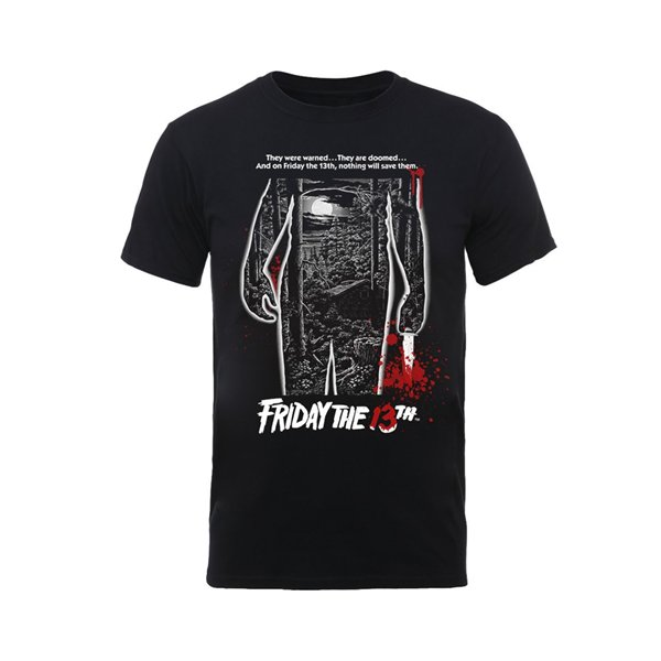 T-shirt Friday The 13TH BLOODY POSTER