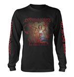 Maglia Manica Lunga Cannibal Corpse RED BEFORE BLACK