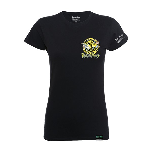 T-shirt Rick and Morty X Absolute Cult - Morty Portal Pocket