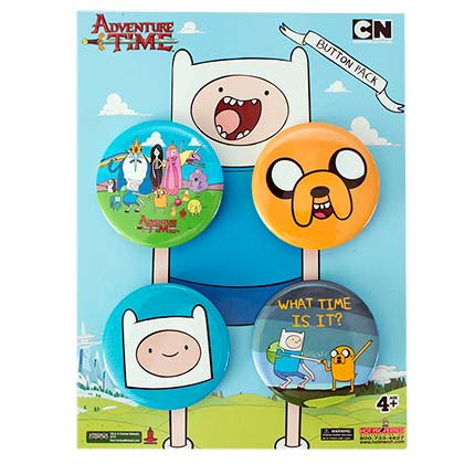 Spilla Adventure Time