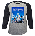 Beatles (THE) - Baseball 8 Days A Week Movie Poster (maglia Manica Lunga Unisex )