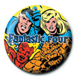 Spilla Marvel - Fantastic Four - 25Mm