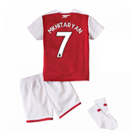 Kit da calcio per neonato Arsenal 2017-2018 Home (Mkhitaryan 7)