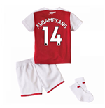 Kit da calcio per neonato Arsenal 2017-2018 Home (Aubameyang 14)