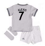 Kit da calcio per neonato Manchester United Third (Alexis 7)