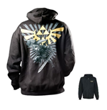 Legend Of Zelda (THE) - Black Zelda (felpa Unisex )