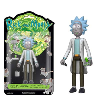 Action figure Rick and Morty