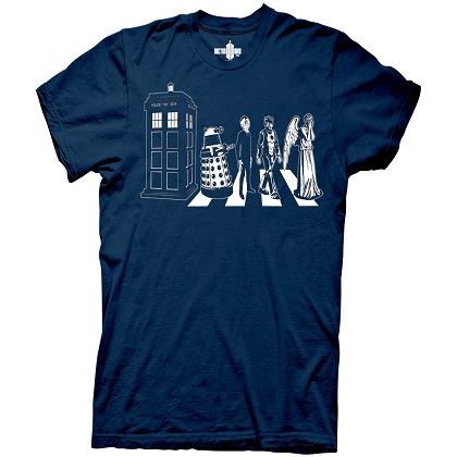T-shirt Doctor Who da uomo