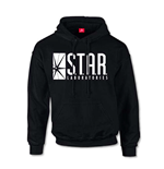 Felpa Dc Originals - Flash Star Labs Logo