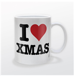 Christmas - I Heart Xmas (Tazza)