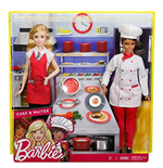 Mattel FCP66 - Barbie - I Can Be - Carriera 2-Pack - Chef + Cameriera