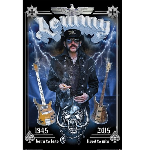 Lemmy - Commemorative (Poster Maxi 61X91,5 Cm)