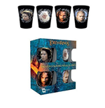 Lord Of The Rings - Characters (Set 4 Bicchieri Piccoli)