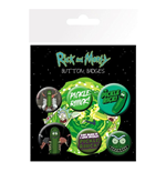 Rick And Morty - Pickle Rick (Badge Pack)