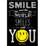 Smiley - World Smiles With You (Poster Maxi 61X91,5 Cm)