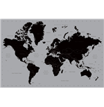 World Map - Contemporary (Poster Maxi 61X91,5 Cm)