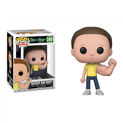 Pupazzo Funo Pop Rick and Morty Sentient Arm Morty