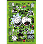 Rick And Morty (Quotes) (Poster Maxi 61X91,5 Cm)